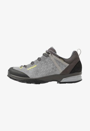SASSA GTX LO - Hiking shoes - grau/mint