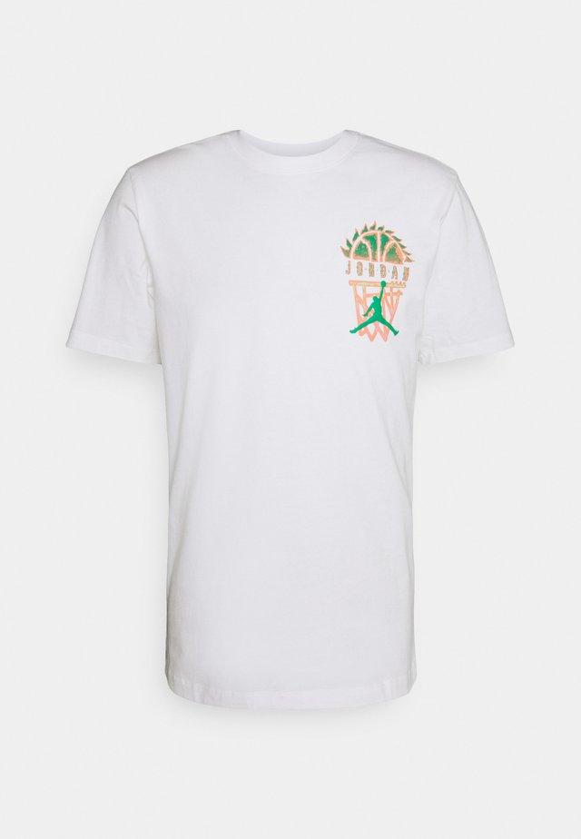 DNA CREW - T-shirt con stampa - white
