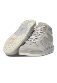 Hummel - ST POWER PLAY MID - Sneakersy wysokie - silver cloud - 2