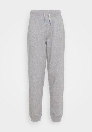 DORI - Tracksuit bottoms - grey marl