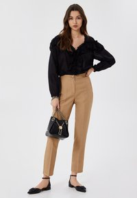 LIU JO - Trousers - light brown - 1
