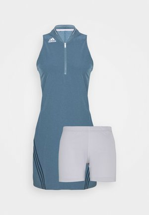 3 STRIPE DRESS - Sports dress - legacy blue