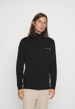 NORSBRO TURTLENECK - Maglietta a manica lunga - black