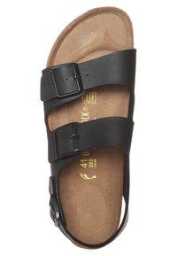 Birkenstock - MILANO - Sandals - black - 6