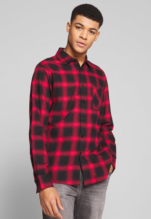 Shirt - black/red