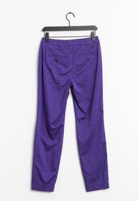 MADELEINE - Trousers - purple - 1