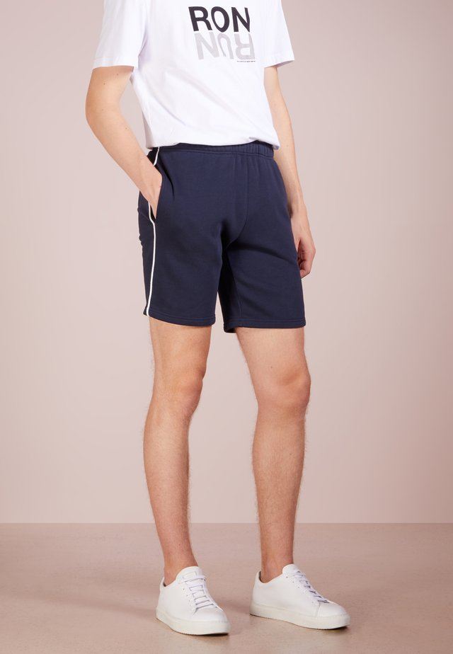 EYELET EDITION - Short - navy