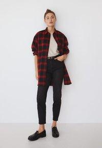 Mango - GRUNGE - Button-down blouse - rød - 1