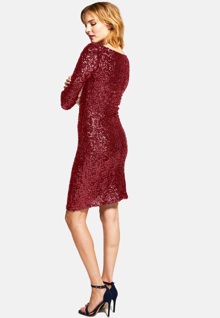 HotSquash Cocktailkleid/festliches Kleid dark red/rot