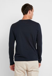 Tommy Hilfiger - LONG SLEEVE LOGO - Long sleeved top - navy