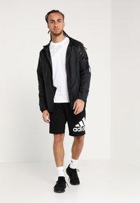 adidas Performance - KRAFT AEROREADY CLIMALITE SPORT SHORTS - Sports shorts - black - 1