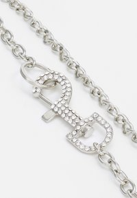 Uncommon Souls - RHINESTONE CLASP NECKLACE - Necklace - silver-coloured - 2