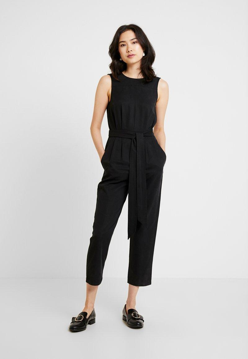 Great Plains London - ANTOINE - Jumpsuit - washed black