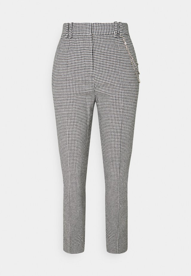 PANTALON - Bukser - black/white