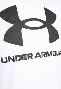 Under Armour - SPORTSTYLE LOGO - Long sleeved top - white - 5