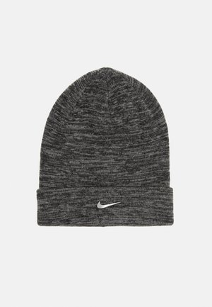 BEANIE CUFFED UNISEX - Huer - charcoal heather