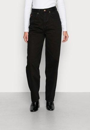 MODERN BOYFRIEND JEAN - Jeans straight leg - black