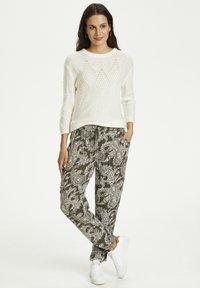 Kaffe - ROKA AMBER PANTS - Trousers - grape leaf new paisley - 1
