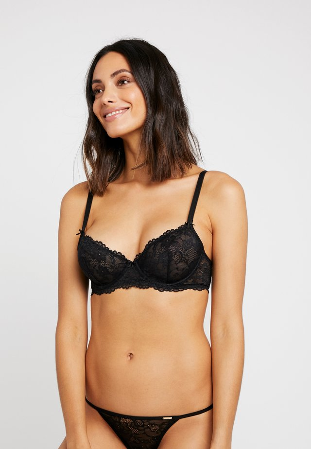 UNLINED BRA - Underwired bra - black