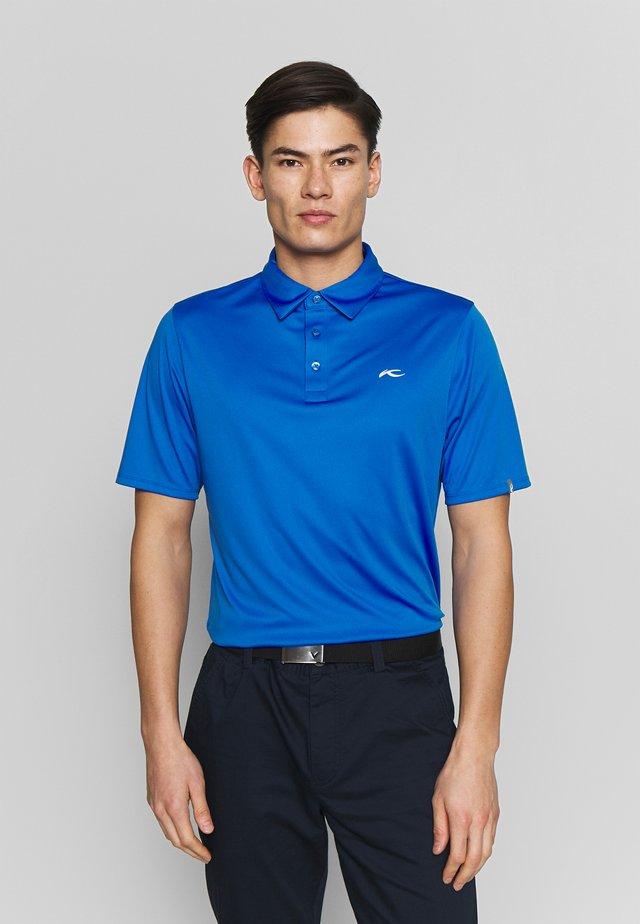 MEN SILAS FRONT LOGO - Polo shirt - blue