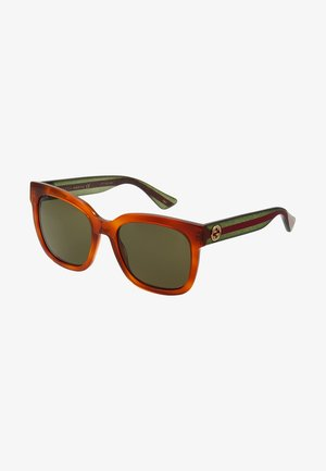 30000981002 - Sunglasses - havana/green