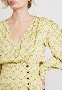 Birgitte Herskind - MIE BLOUSE - Bluser - pastel yellow - 4
