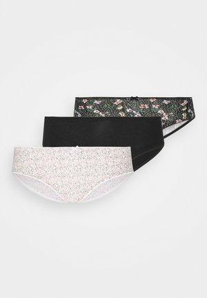 MARTHA 3 PACK - Kalhotky - noir