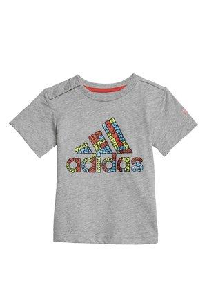 LOGO T-SHIRT - Print T-shirt - grey