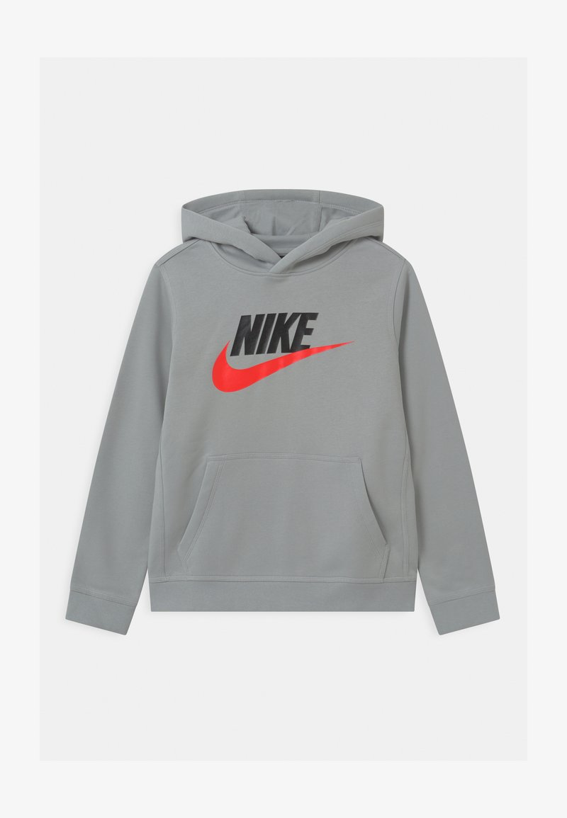 Nike Sportswear - CLUB - Jersey con capucha - light smoke grey