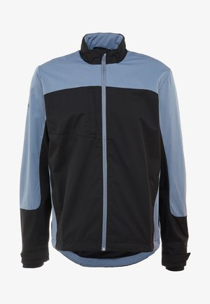 BLOCK FULL ZIP WINDJACKET - Wiatrówka - caviar