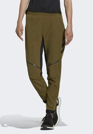 TERREX AGRAVIC HYBRID TRAIL - Leggings - green