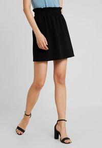 Vero Moda - VMCOCO GABRIELLE FRILL SKIRT - A-line skirt - black - 0