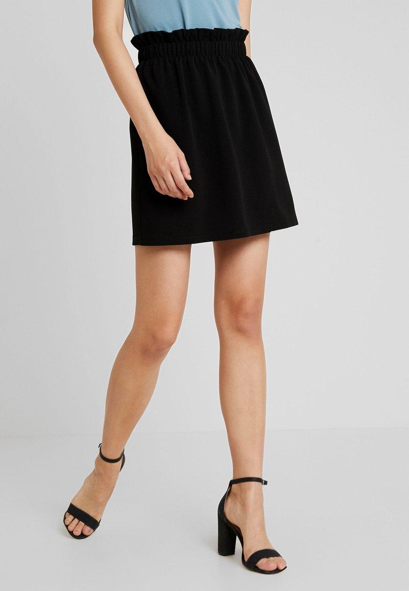 Vero Moda - VMCOCO GABRIELLE FRILL SKIRT - A-line skirt - black