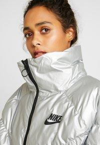 Nike Sportswear - FILL SHINE - Winter jacket - metallic silver/black - 4