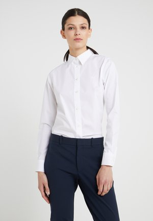 NON IRON - Button-down blouse - white