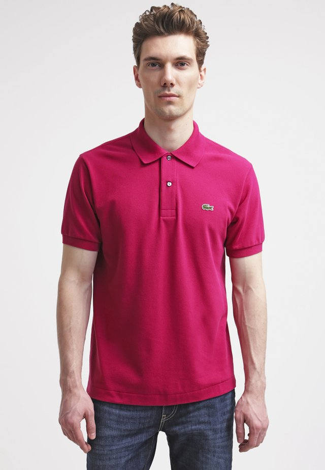 L1212 - Polo shirt - fairground pink