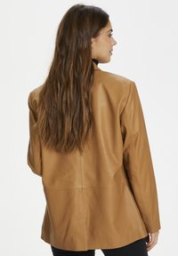Karen by Simonsen - Leather jacket - tobacco brown - 2