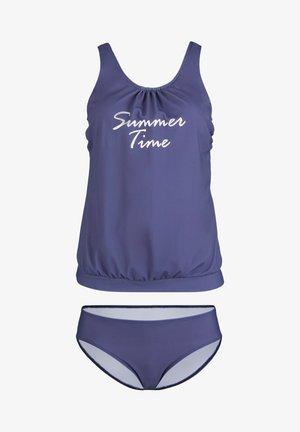 TANKINI (2-TLG. SET) TOLLER TANKINI MIT INTEGRIERTEN SOF - Bikini - lila