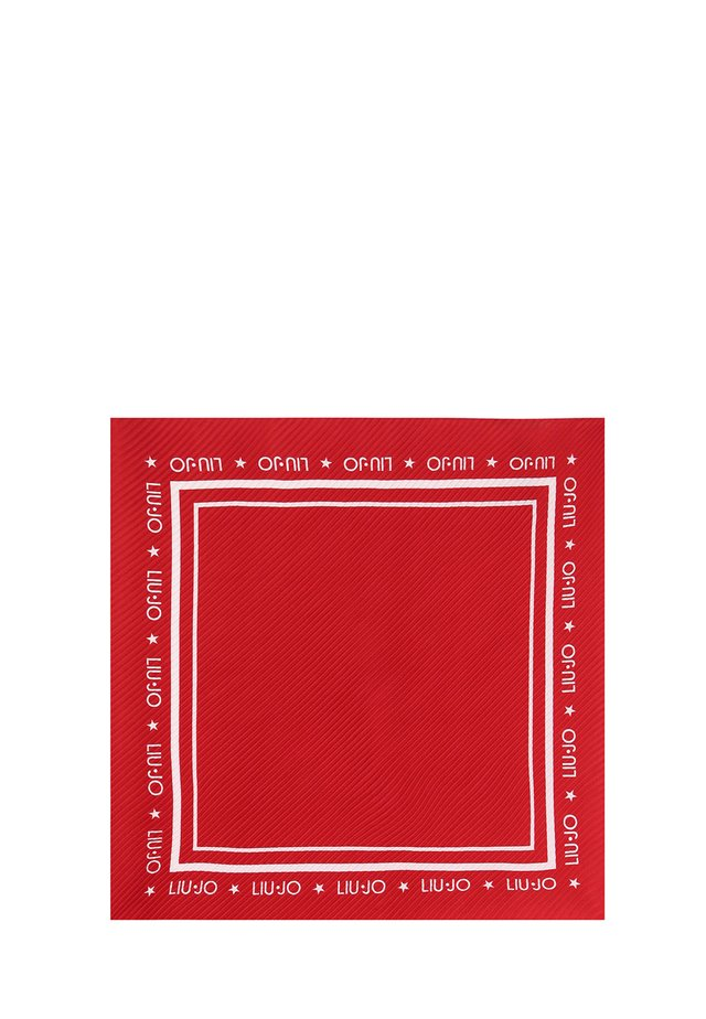ECO-FRIENDLY PLEATED  - Foulard - red
