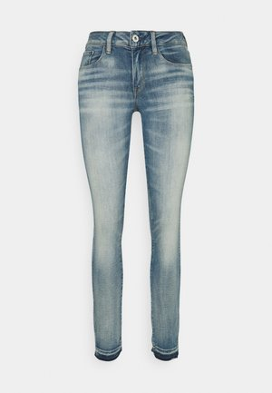 MID SKINNY ANKLE - Jeans Skinny Fit - antic faded lapo blue