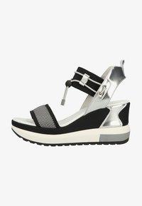NeroGiardini - Platform sandals - grigio - 0