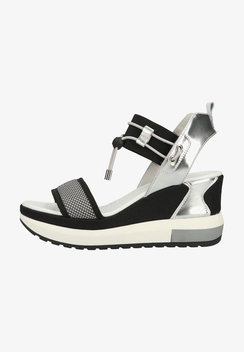 NeroGiardini - Platform sandals - grigio