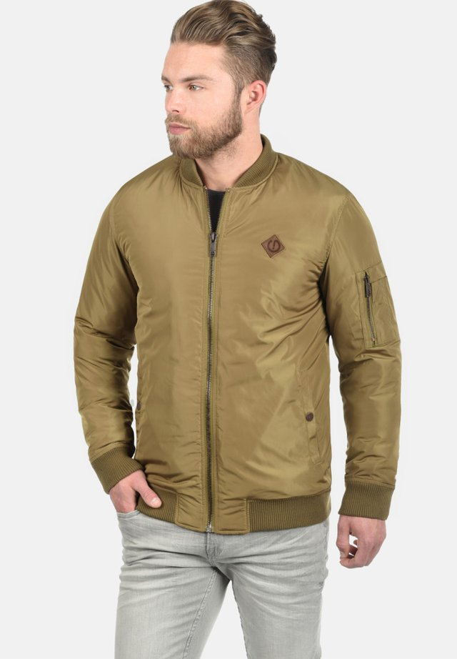 REGULAR FIT - Bomber Jacket - khaki