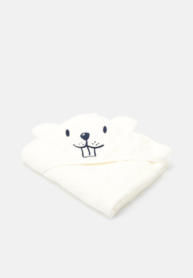 NBNUMERLO TOWEL - Bath towel - snow white