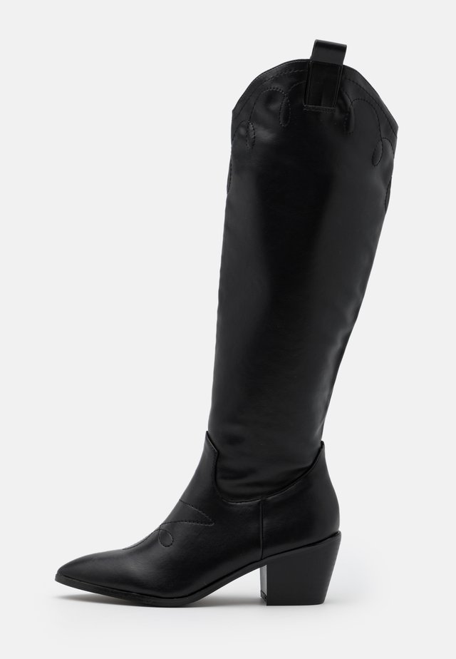 JAYNE - Cowboy/Biker boots - black