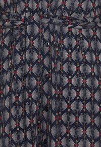 King Louie - ROSIE MIDI DRESS WARRIOR - Długa sukienka - blue - 2