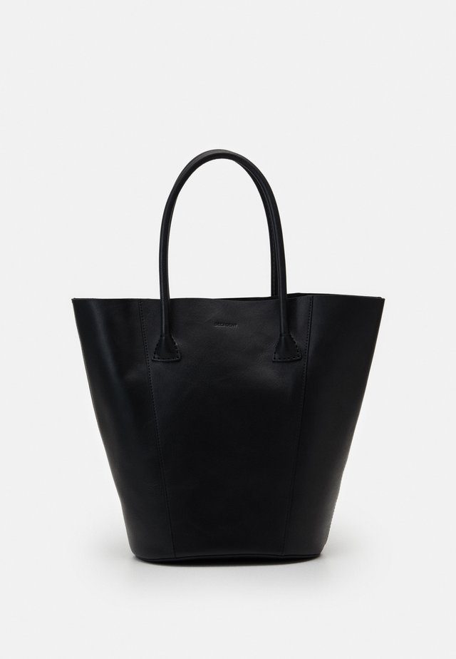 GIA BUCKET TOTE - Shoppingväska - black