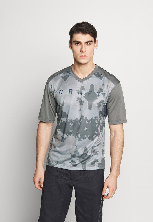 HALE - Camiseta estampada - cinder