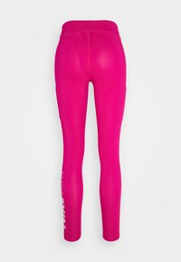 Nike Sportswear - Leggings - Trousers - fireberry/white - 6