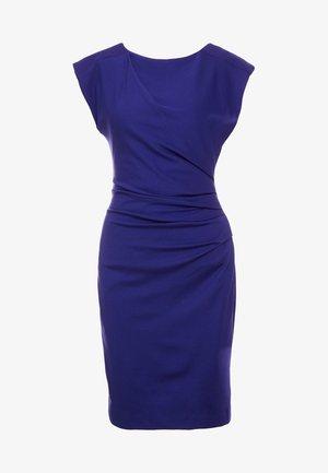 STRETCH - Pouzdrové šaty - deep ocean blue